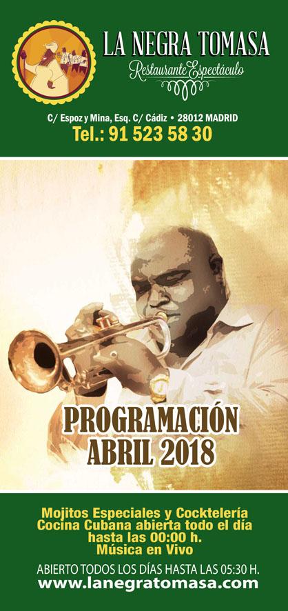 Abril…. Seguimos de 20º Aniversario. Homenaje Habana D´ Primera.